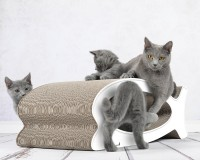 Preview: Le Fish cardboard cat scratcher