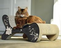 Preview: Molecular Fauteuil design cat scratcher