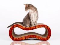 Preview: Design Kratzmöbel Singha M für Katzen