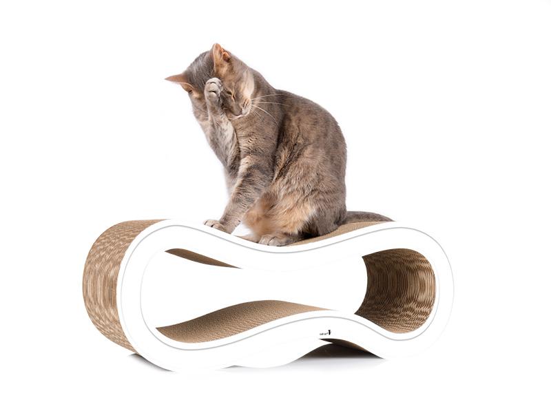 cat furniture cat-on Singha M in white