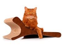 Preview: Kratzbrett cat-on Feline 002b - Kratzmöbel aus Wellpappe