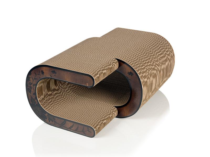 Design-Kratzmöbel für Katzen La Vague 013c