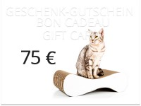 cat-on gift card - value: 75,00 € | cat scratchers, scratch posts