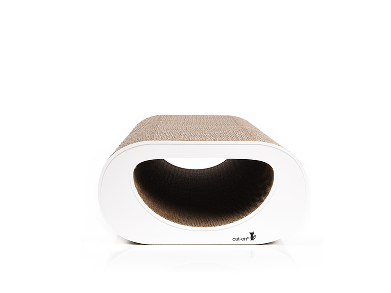 cat scratcher Le Tunnel - color: 000 - white