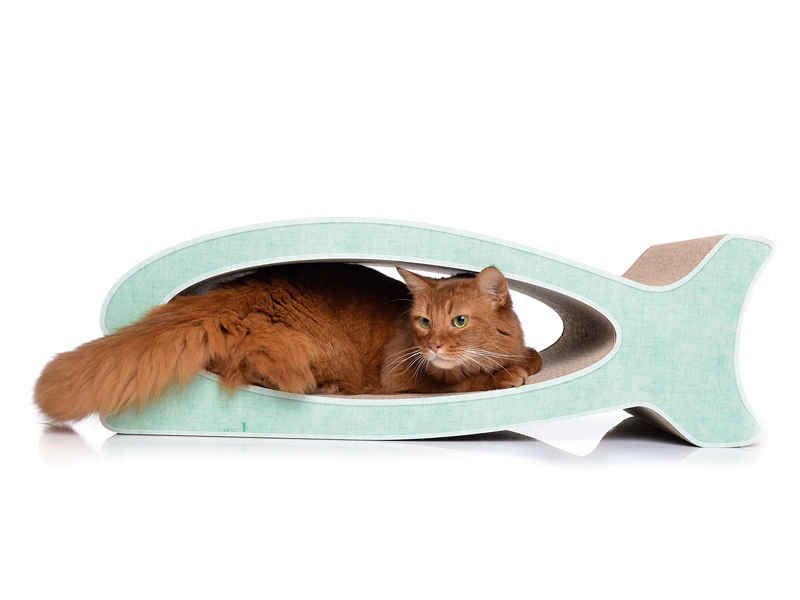 cat-on Le Fish | design cat scratching furniture