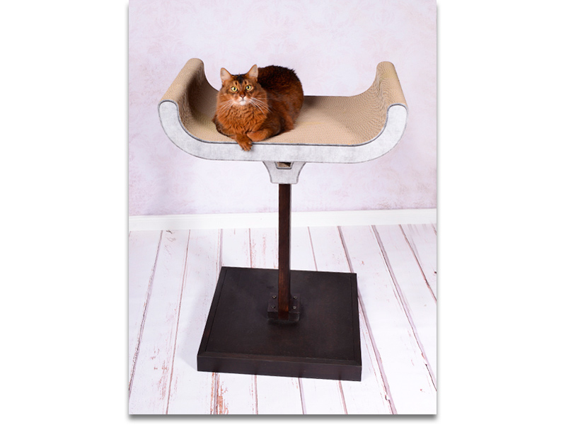 cat-on design cat tree and scratch post Corbeille