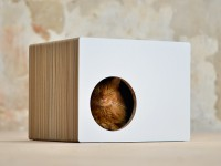 Cat house Phredia Eckhaus | Design cat scrtaching furniture Made in Germany