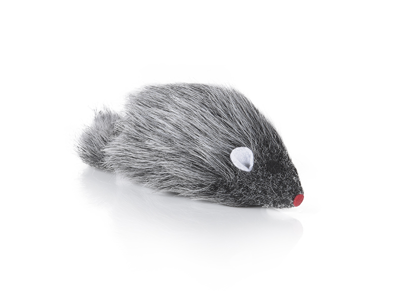 Hunter Smart plush mouse 10 cm for 100 % cat fun