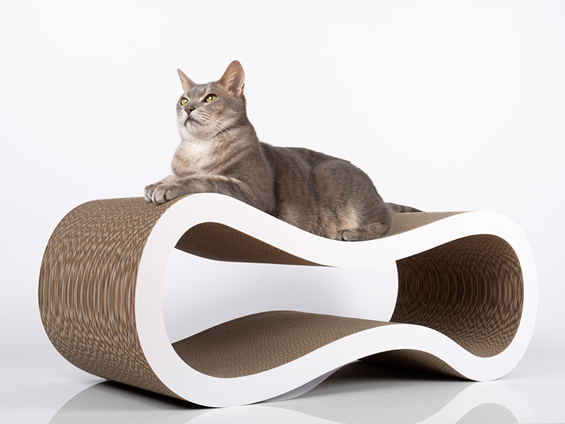Design cat scratcher Singha L | cardboard cat scratcher