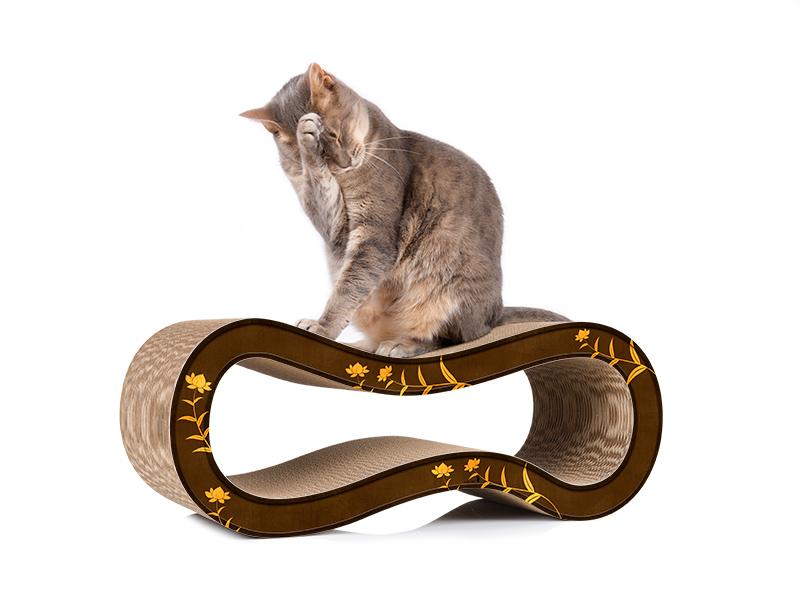 cat-on Singha M - cardboard cat scratcher