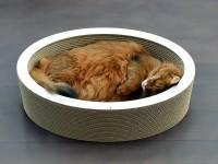 LOVALE - ovaler Katzenkorb aus Wellpappe