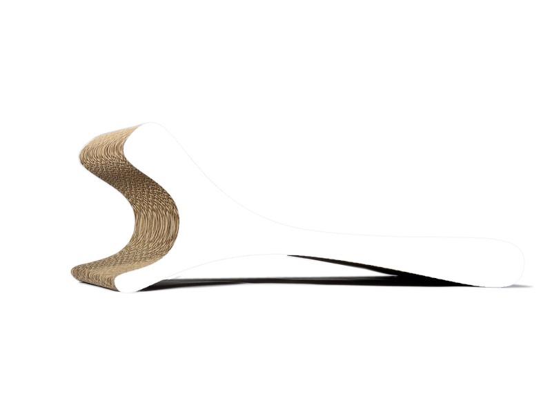 Kratzmöbel Feline 000x - gestrichen weiß
