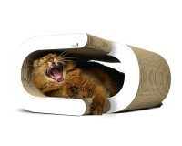 Preview: cat-on La Vague - stilvolles Kratzmöbel für Katzen